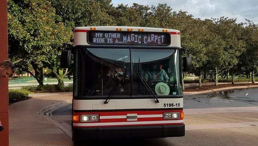 Bus Stop Changes are Coming to Disney's Caribbean Beach Resort