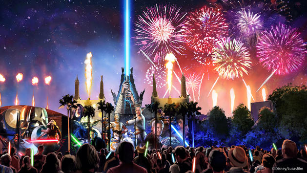 Star Wars: A Galactic Spectacular Reopens at Hollywood Studios on December 16th