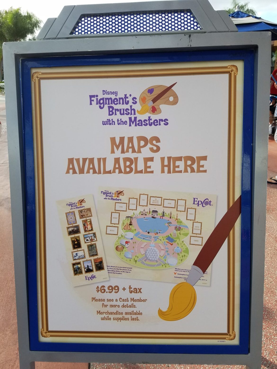 Epcot Offers 'Figment's Brush With The Masters' Hunt for Festival of the Arts Weekends!