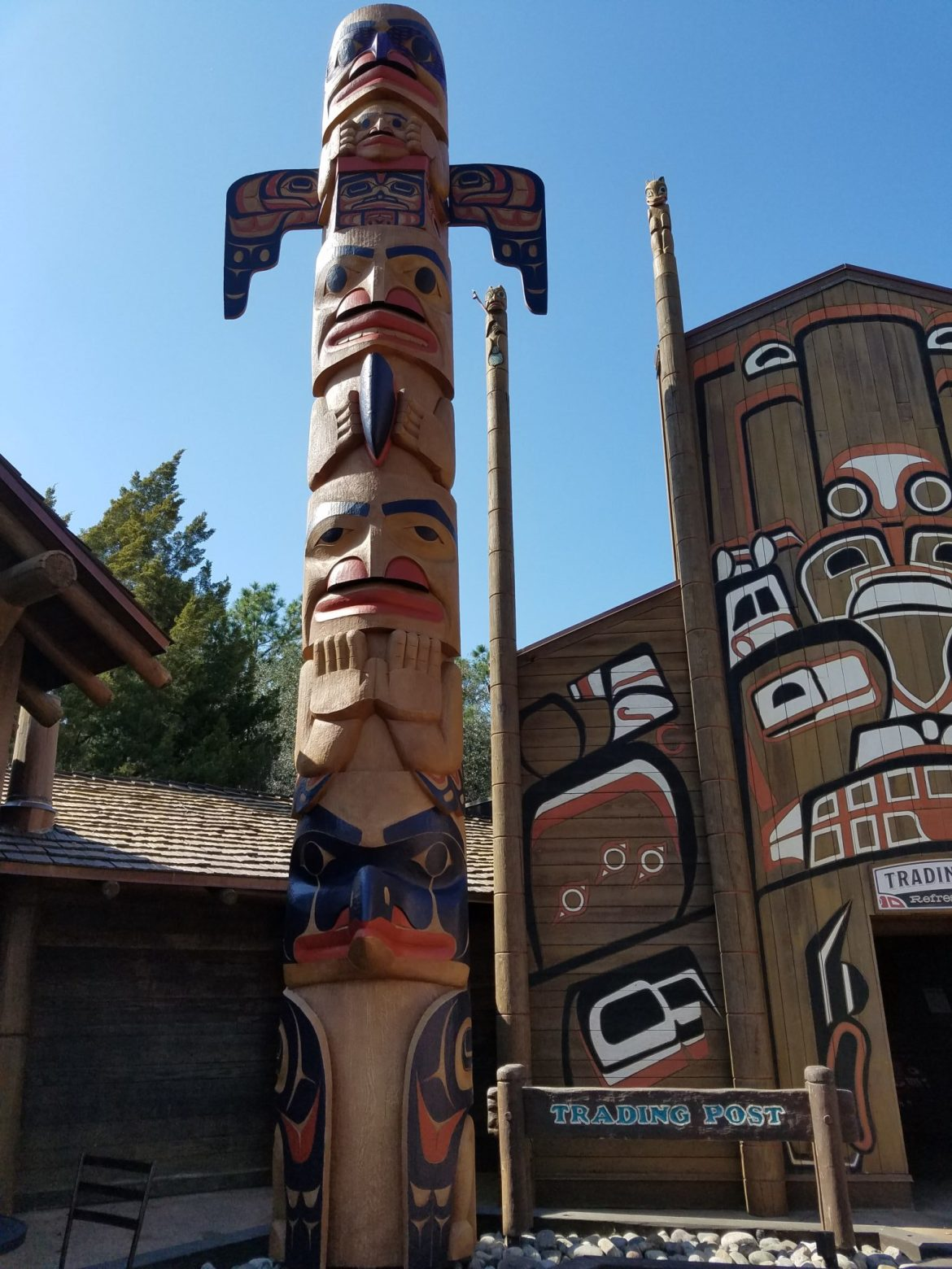 Epcot's Canada Pavilion Adds Two New Totem Poles and Refurbishes Original