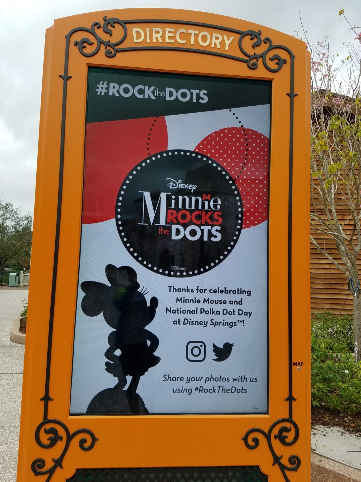 Minnie Hosted Fun Rock the Dots Event At Disney Springs In Honor of National Polka Dot Day