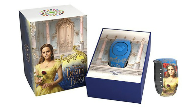 """Limited Edition Live Action """"Beauty and The Beast"""" MagicBand 2 available!"""