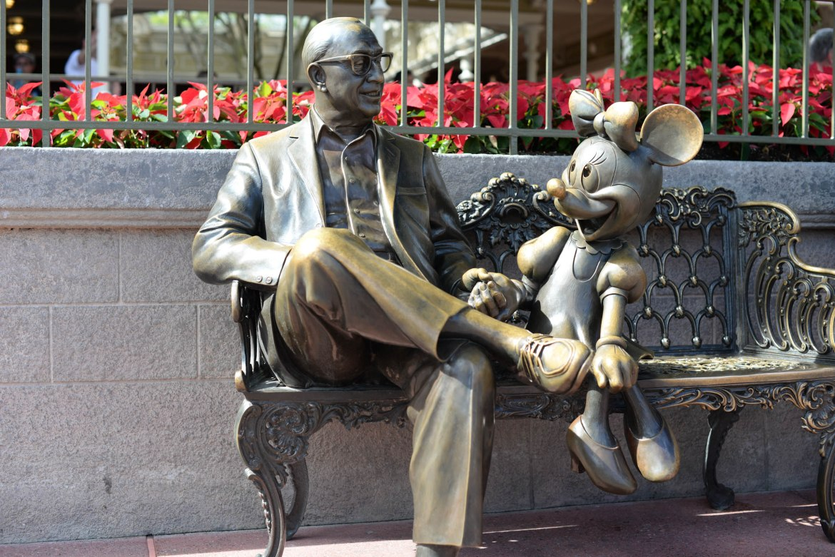 'Sharing the Magic' Bench removed for Refurbishment
