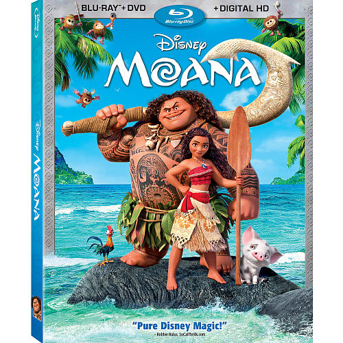 "Disney's ""Moana"" Comes To Digital HD February 21 And Blu-ray March 7"