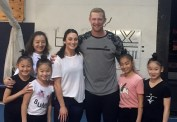 Los Angeles Rams Punter Johnny Hekker. and his wife Makayla.