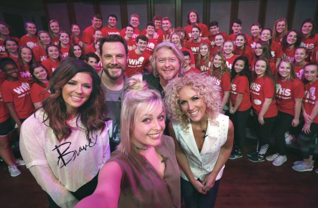 Little Big Town Surprises Ohio Students at Walt Disney World as Part of Music in Our Schools Tour