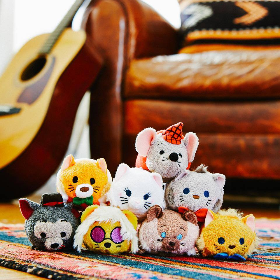 Everybody Wants to be a Cat! Aristocats Tsum Tsum Collection has Arrived!