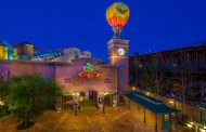 Iconic Kermit The Frog Hot Air Balloon being Removed from Muppets Courtyard
