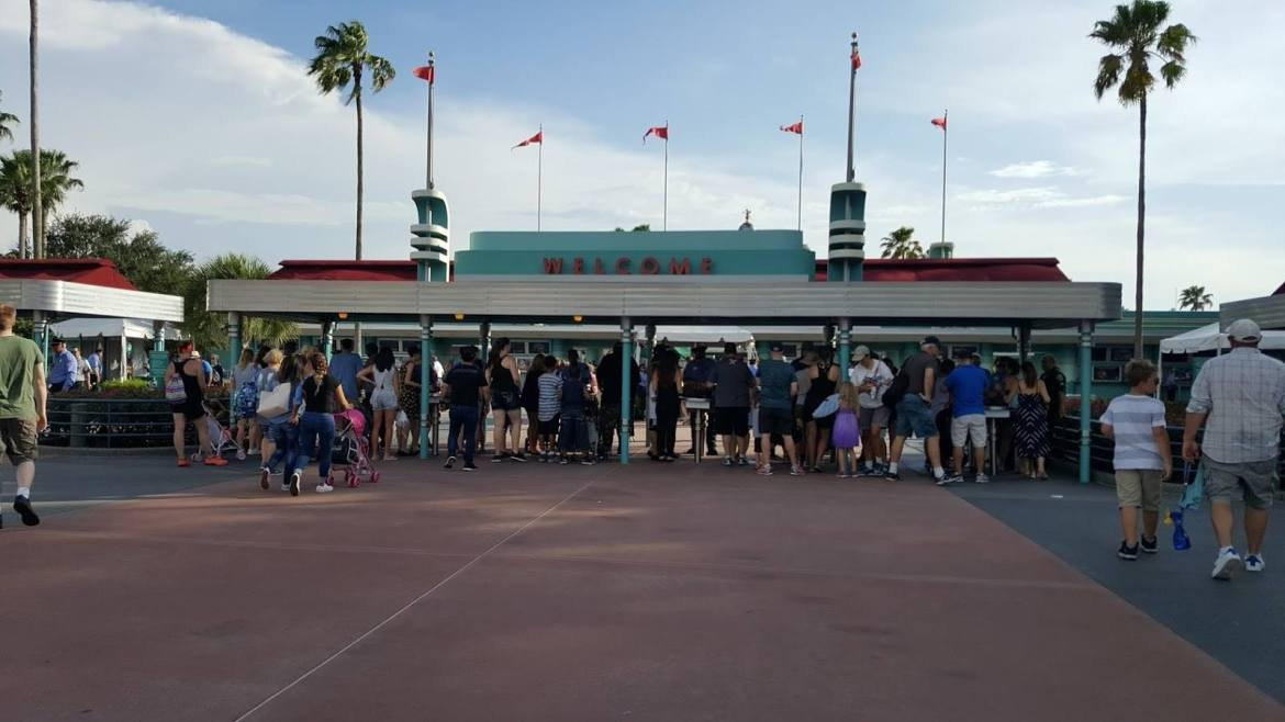 Changes Made to Guest Entrances at Hollywood Studios