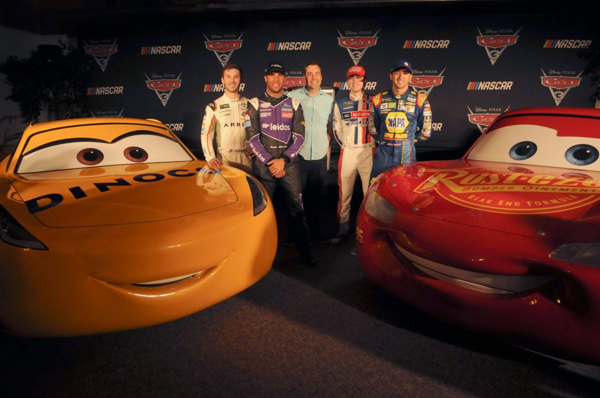 """""""Cars 3"""" Gears Up For a Season-Long Ride With NASCAR"""