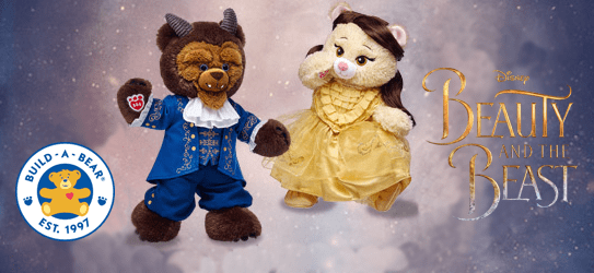 New Build-A-Bear Beauty and the Beast Collection has Arrived