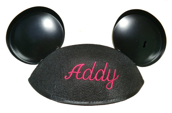 08db1360a0d24 Your Very Own Embroidered Personalized Mickey Mouse Ears