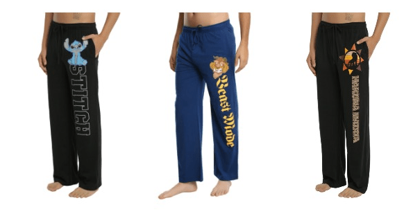 All New Disney Sweats Pants for Guys From Hot Topic