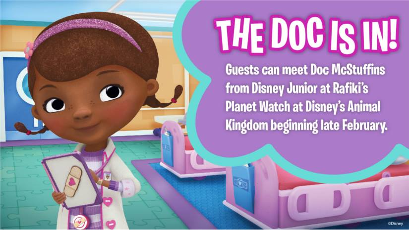 Doc McStuffins coming to Disney's Animal Kingdom