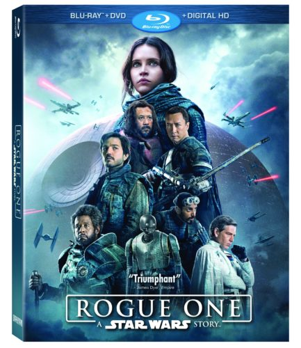 ROGUE ONE: A STAR WARS STORY on Digital HD March 24th and Blu-ray April 4th
