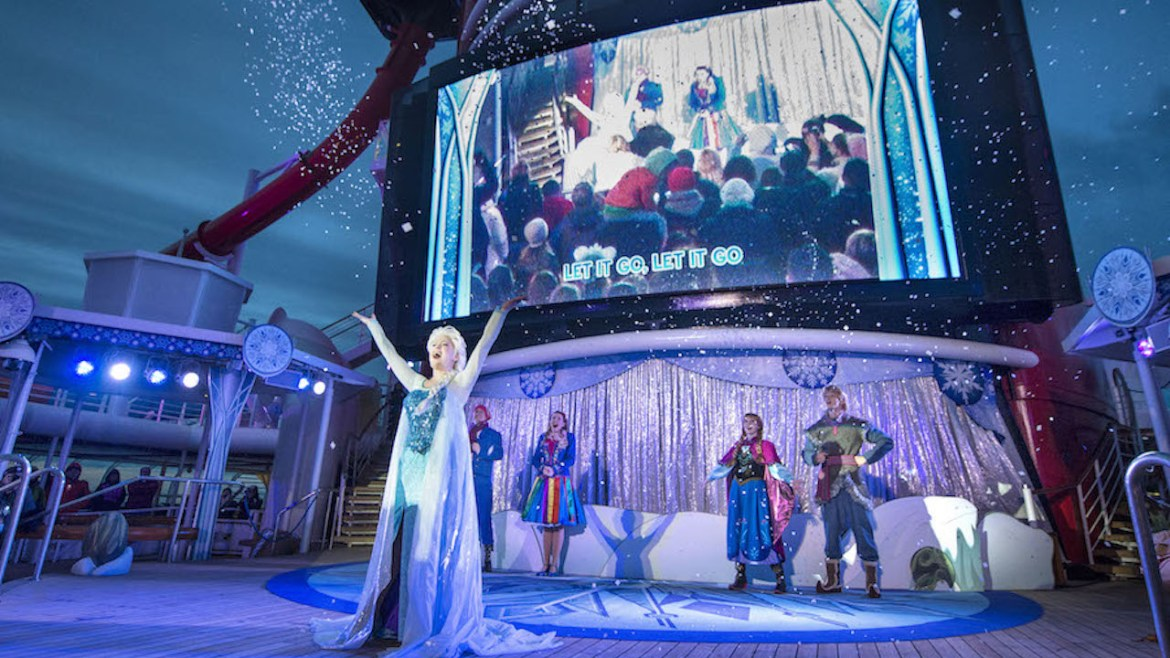 Frozen Fun is Back Aboard Disney Cruise Line This Summer