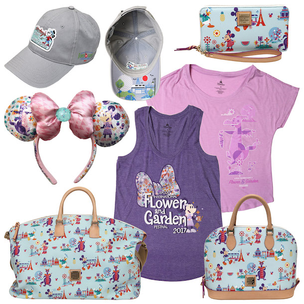 Sneak Peek of new Merchandise for the Epcot International Flower & Garden Festival