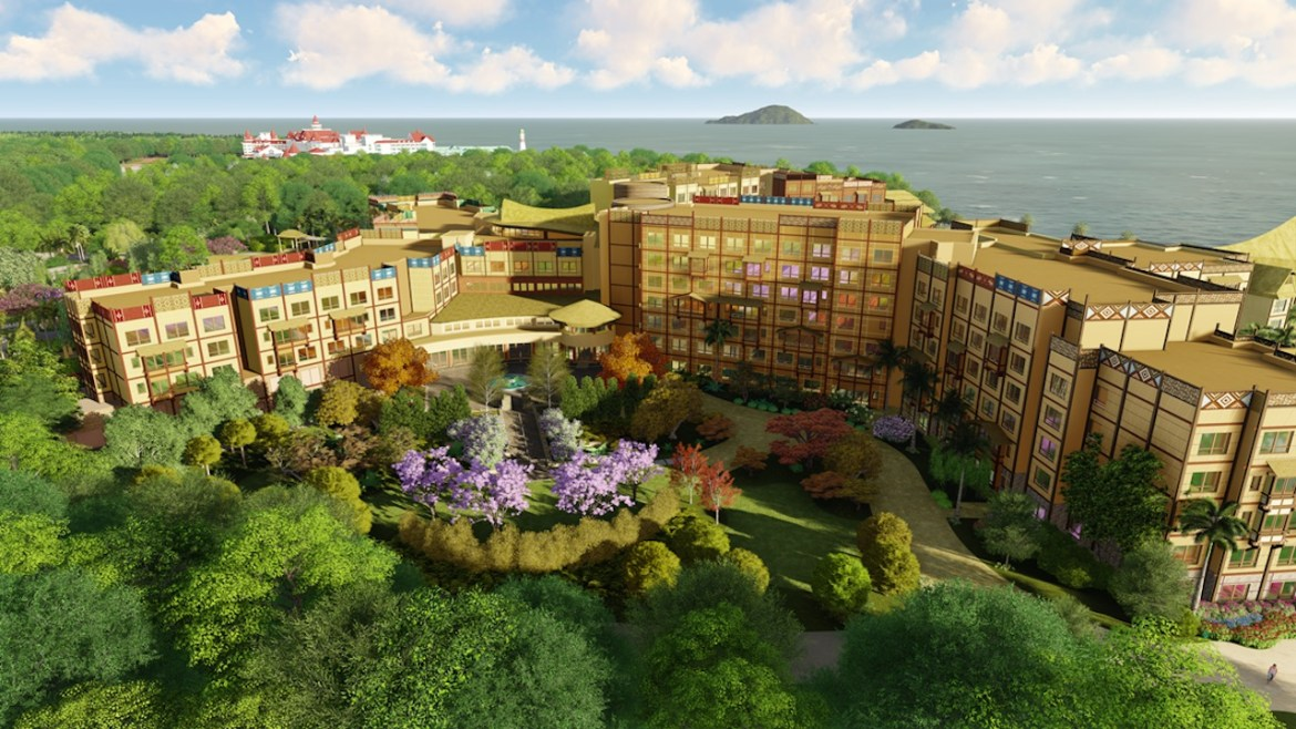 New Hotel, Disney Explorers Lodge, Opening at Hong King Disneyland