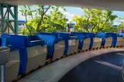 Tomorrowland Transit Authority PeopleMover Now Under Refurbishment