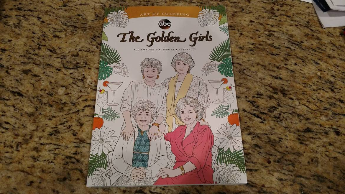 Art of Coloring Presents: The Golden Girls Coloring Book