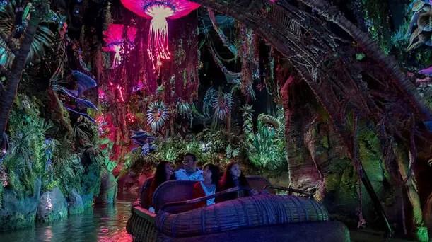Details on Na'vi River Journey at Pandora-World of Avatar
