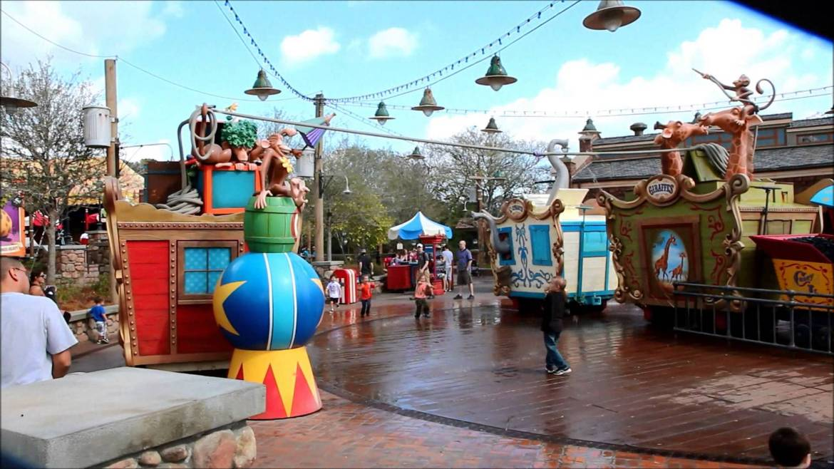 Top Toddler Rides at each Disney World Theme Park
