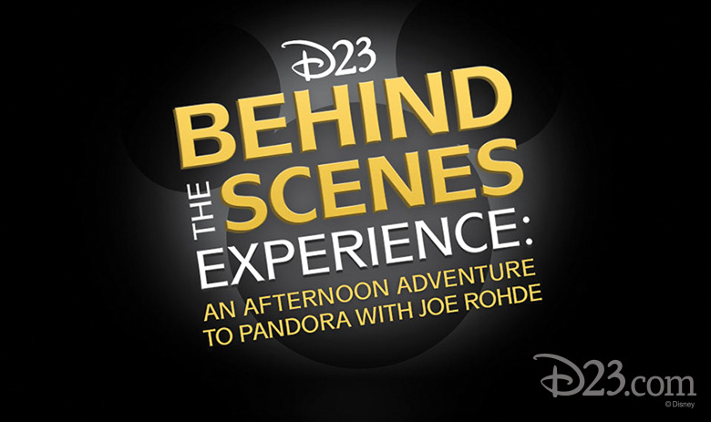 D23 Hosts Behind the Scenes Tour of Pandora -The World of Avatar with Joe Rohde