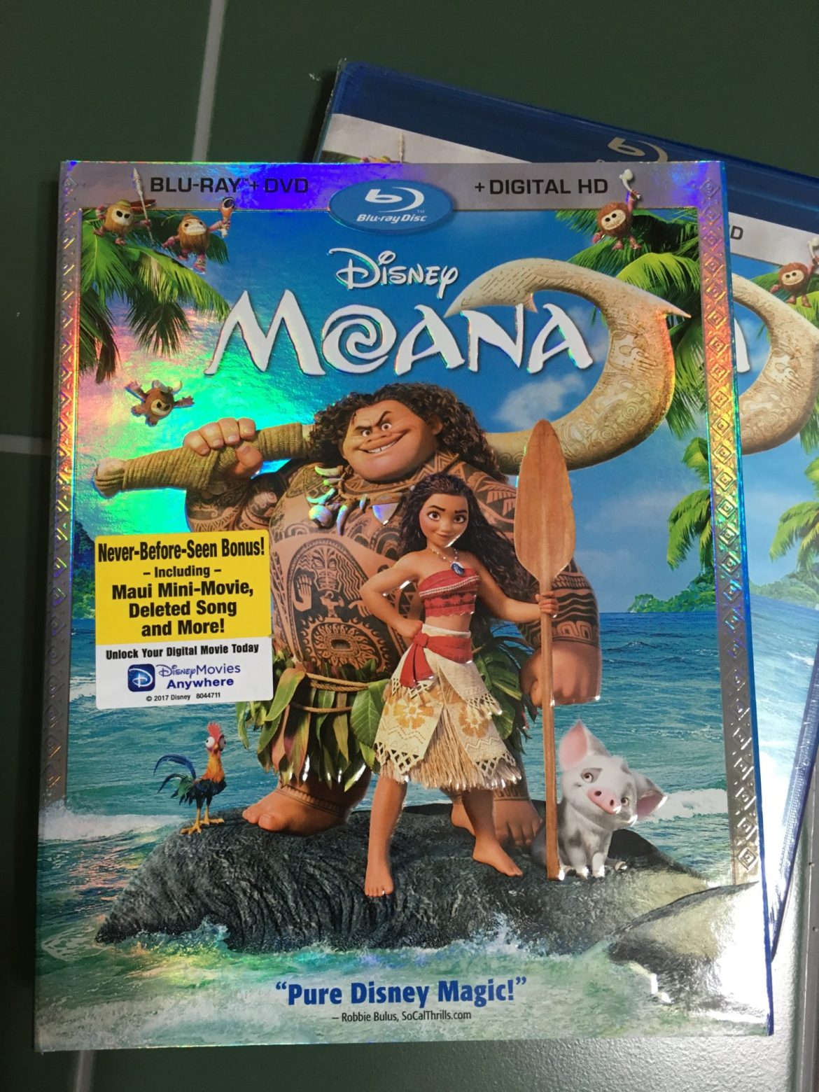 "Cast Your Nets! The ""Moana"" Blu-Ray Review Is Here!"
