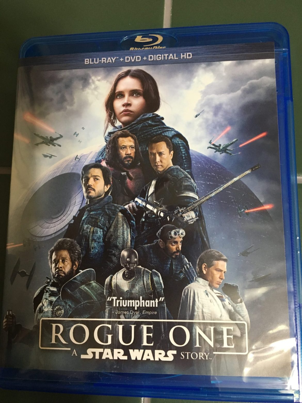 Be One With The Force! Star Wars Rogue One Blu-Ray Review