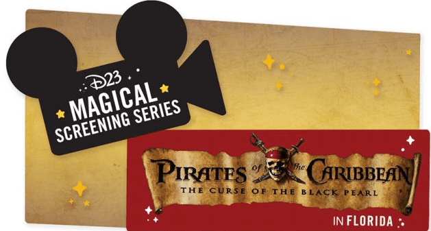 D23's Screening Series: Pirates of the Caribbean: The Curse of the Black Pearl