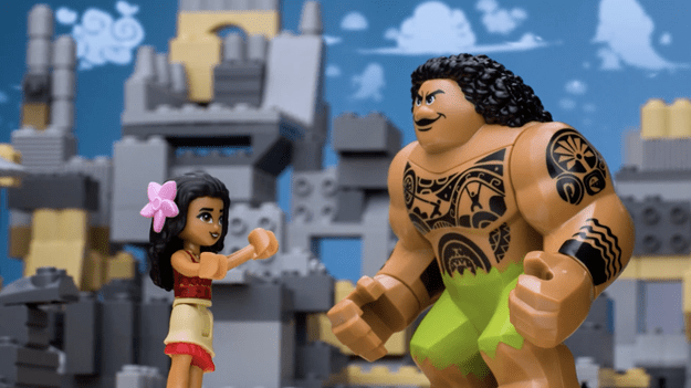 """Moana"" As Told By Lego!"