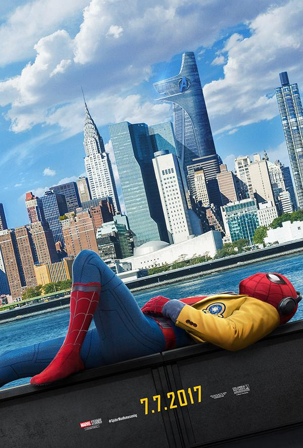 """""""Spiderman Homecoming"""" New Poster And Trailer!"""