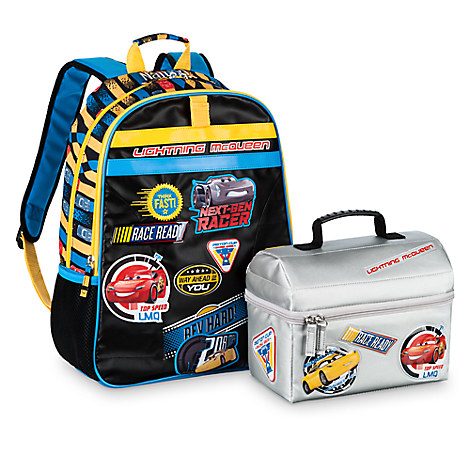 3816b20b7c8 Head Off to the Races with a Personalized Cars 3 Backpack