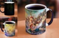 Thomas Kinkade Disney Little Mermaid Morphing Mug