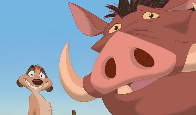 """Seth Rogen and Billy Eicher sign on as Timon and Pumbaa in upcoming Live-Action """"Lion King"""" Movie!"""