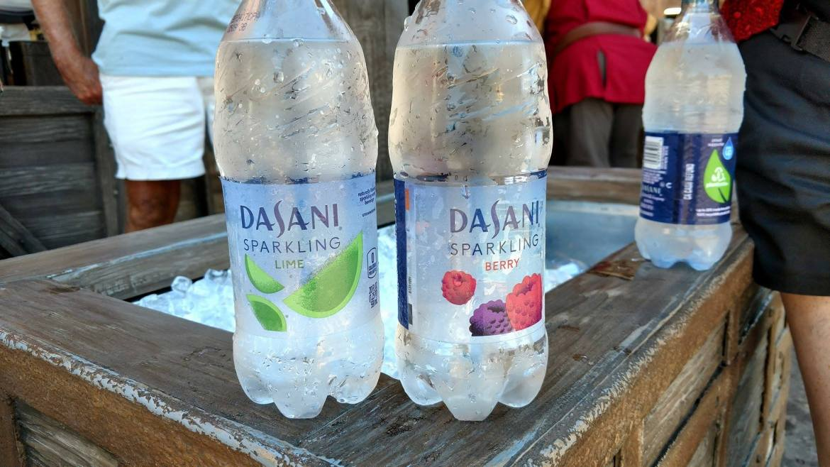 Cool Down with a Refreshing Sparkling Water at Walt Disney World