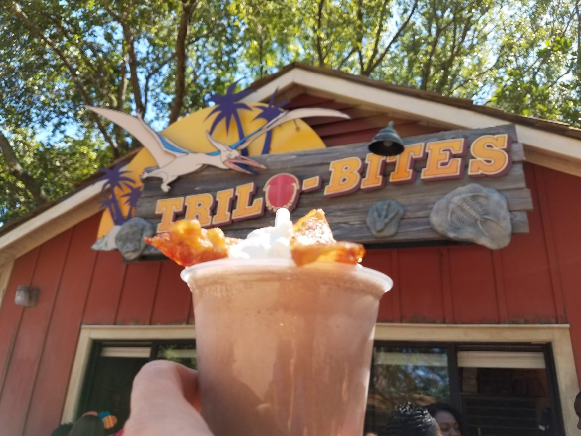 Trilo Bites Smokey Bones Chocolate Shake With Bourbon and Candied Bacon Review