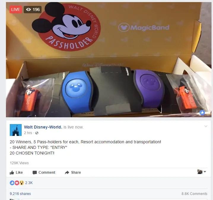 Beware of Disney Scams on Facebook
