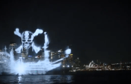 A Ghostly Ship From Pirates Of The Caribbean Appears In Sydney Harbor