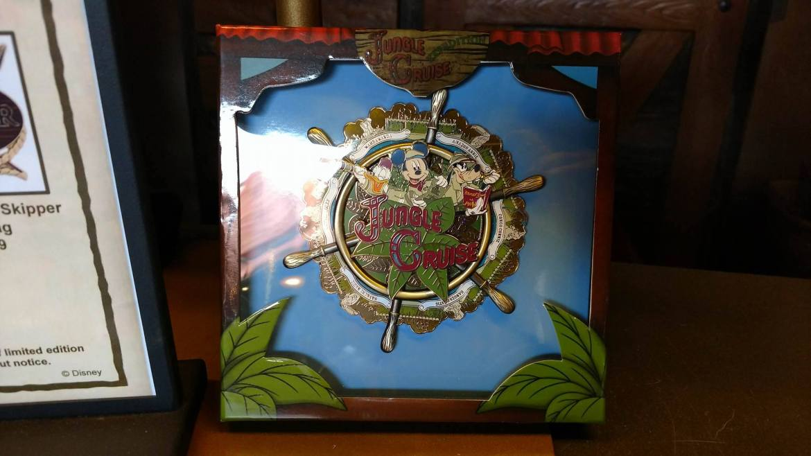 Limited Edition Jungle Cruise 45th Anniversary Pins Now Available at Magic Kingdom