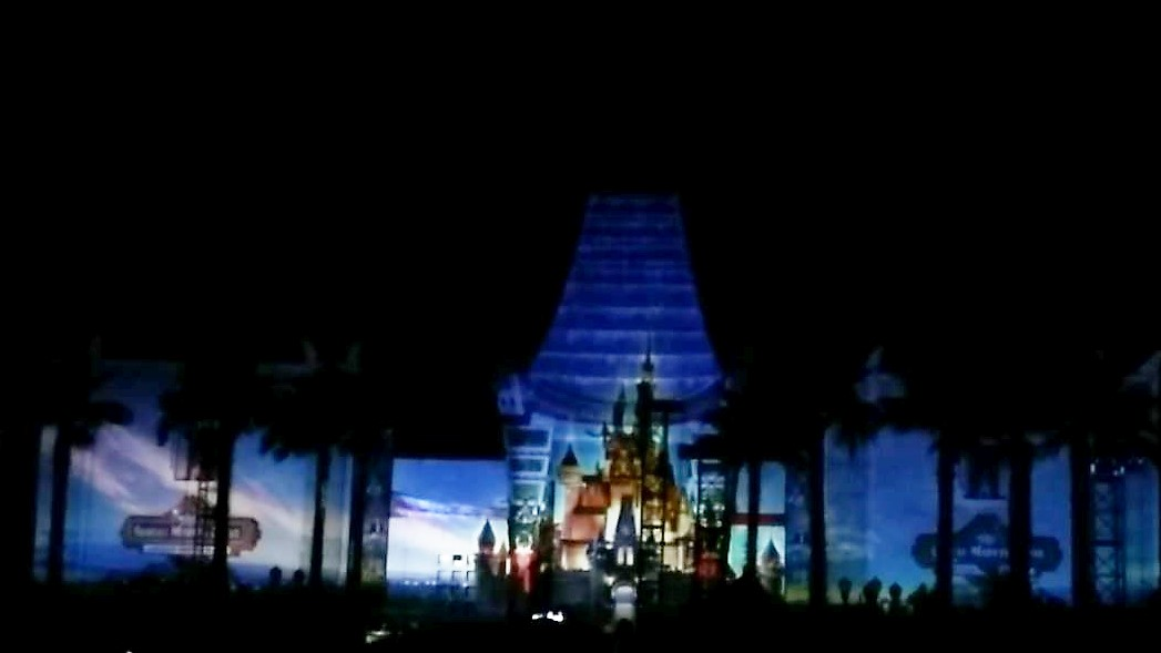 "Video of ""Disney Movie Magic!"" the Surprise New Nighttime Show at Hollywood Studios"