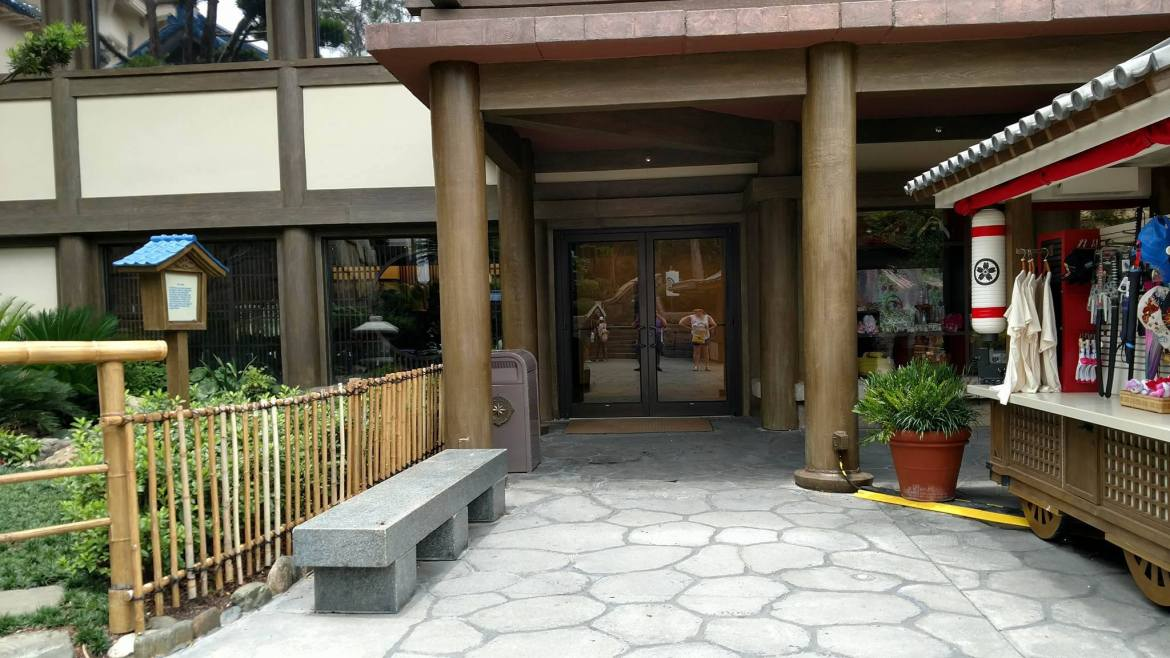 Front Entrance at Mitsukoshi Department Store in Epcot Now Open