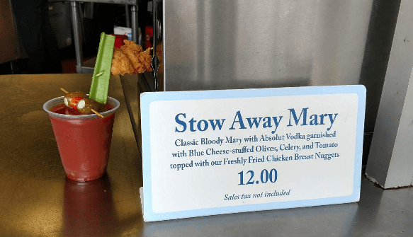 """""""Stow Away Mary"""" a Cocktail That Will Quench Your Thirst And Feed Your Appetite"""