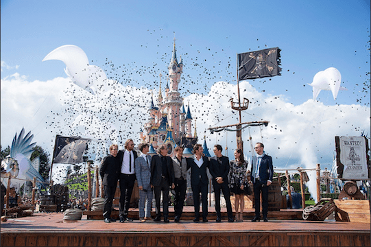 """Pirates Of The Caribbean: Dead Men Tell No Tales"" Premiere At Disneyland Paris, Pics!"