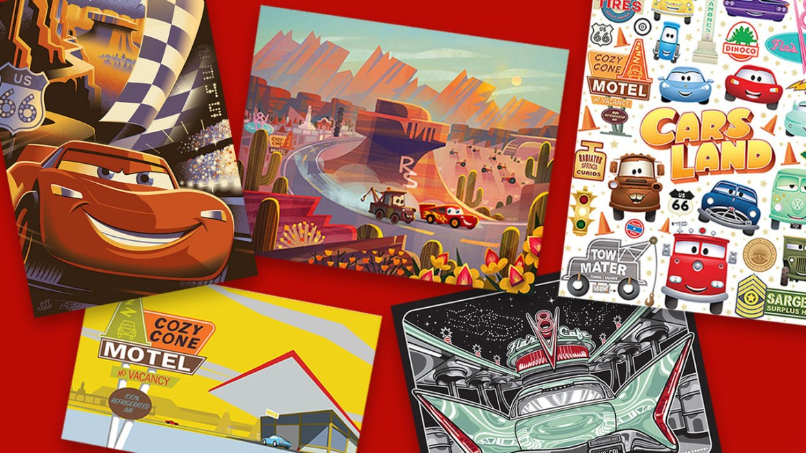 Special Artist Events to be Held at Disneyland in Celebration of Cars Land and 'Cars 3'
