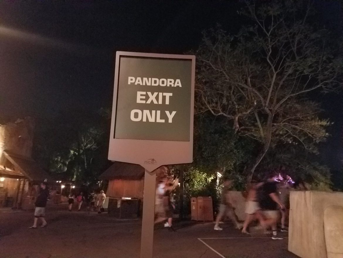 Second Exit Location For Pandora-The World of Avatar
