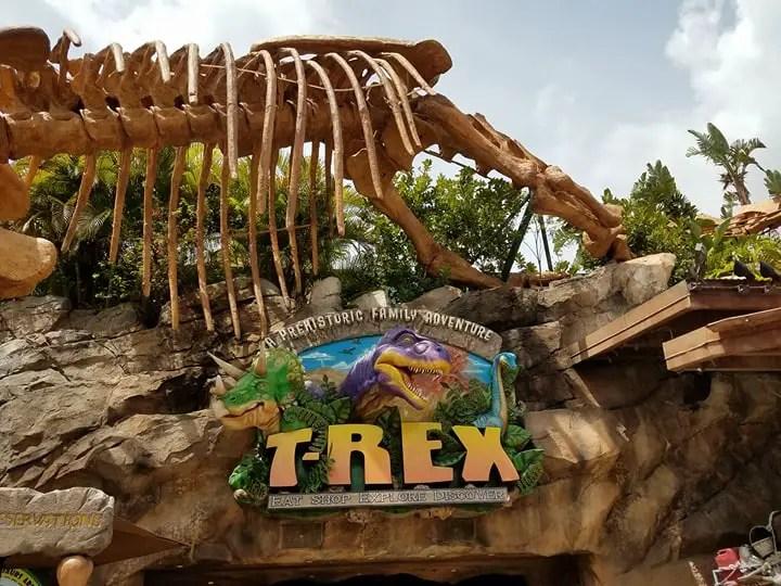 New Menu Items at T-Rex in Disney Springs
