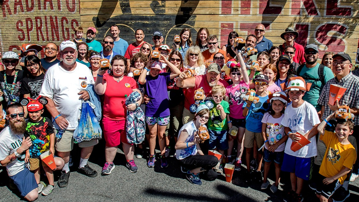 Larry the Cable Guy Surprises Cars Land Guests at Disney California Adventure Park