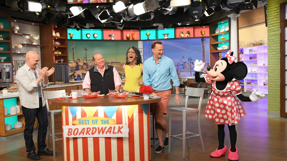 Win A Trip to See The Chew's Return to the Epcot International Food & Wine Festival!