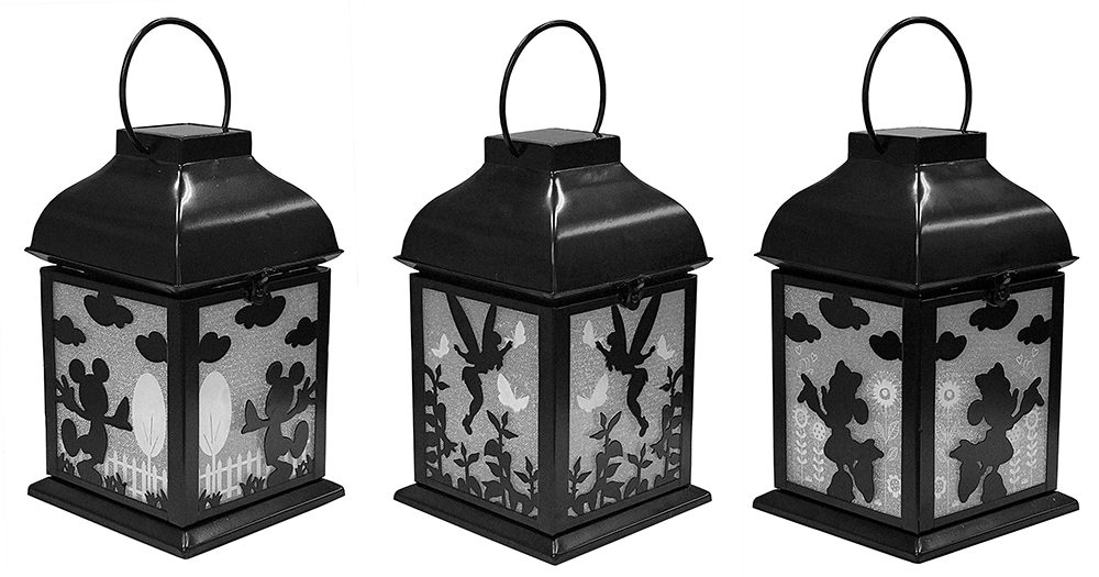 Light Up Your Summer With Disney Solar Garden Lanterns